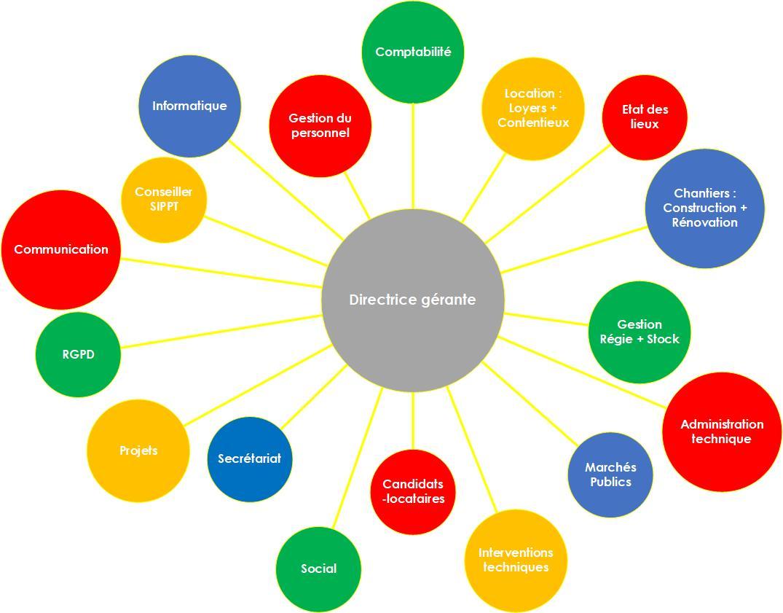 Schéma organisationnel
